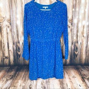 Madewell Broadway & Broome blue dress 2